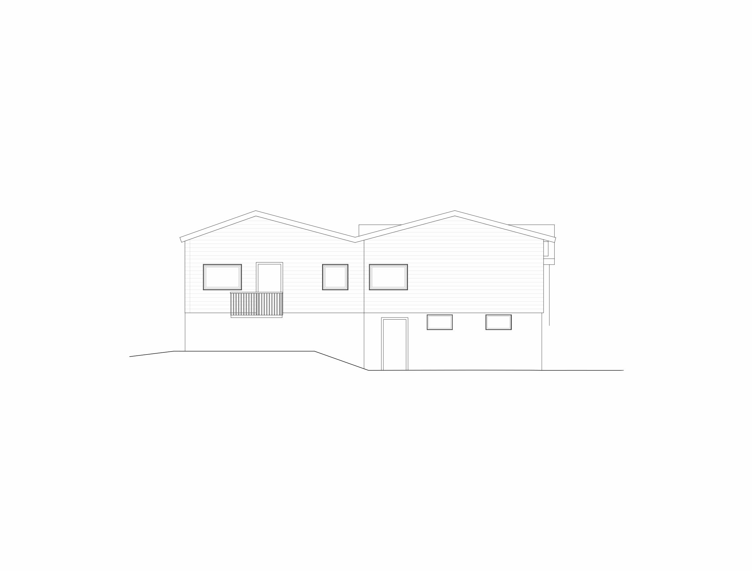 Forunderlig Arkitektur - 1601 - Fasade Øst