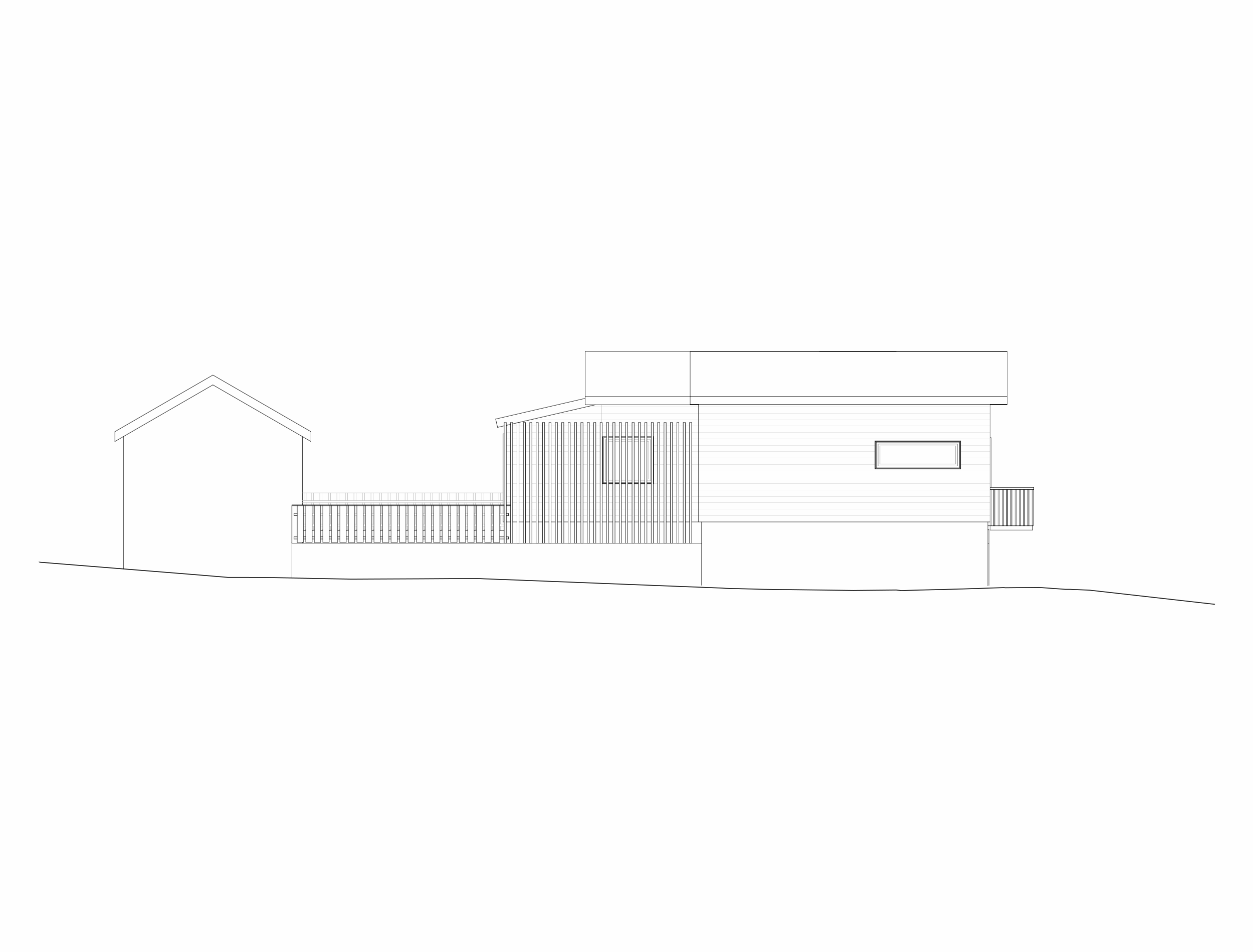 Forunderlig Arkitektur - 1601 - Fasade Sør