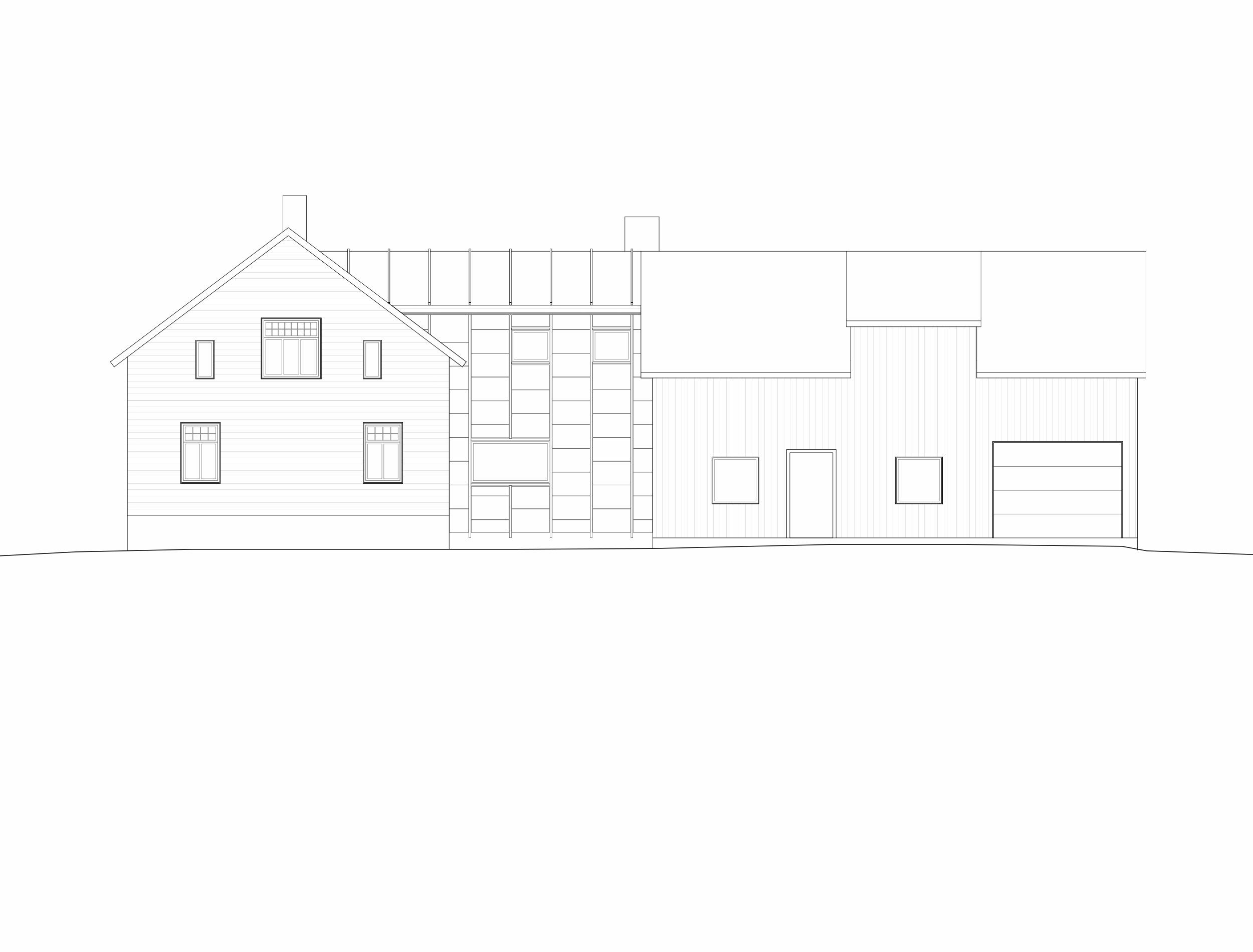 Forunderlig Arkitektur - 1604 - Fasade Øst