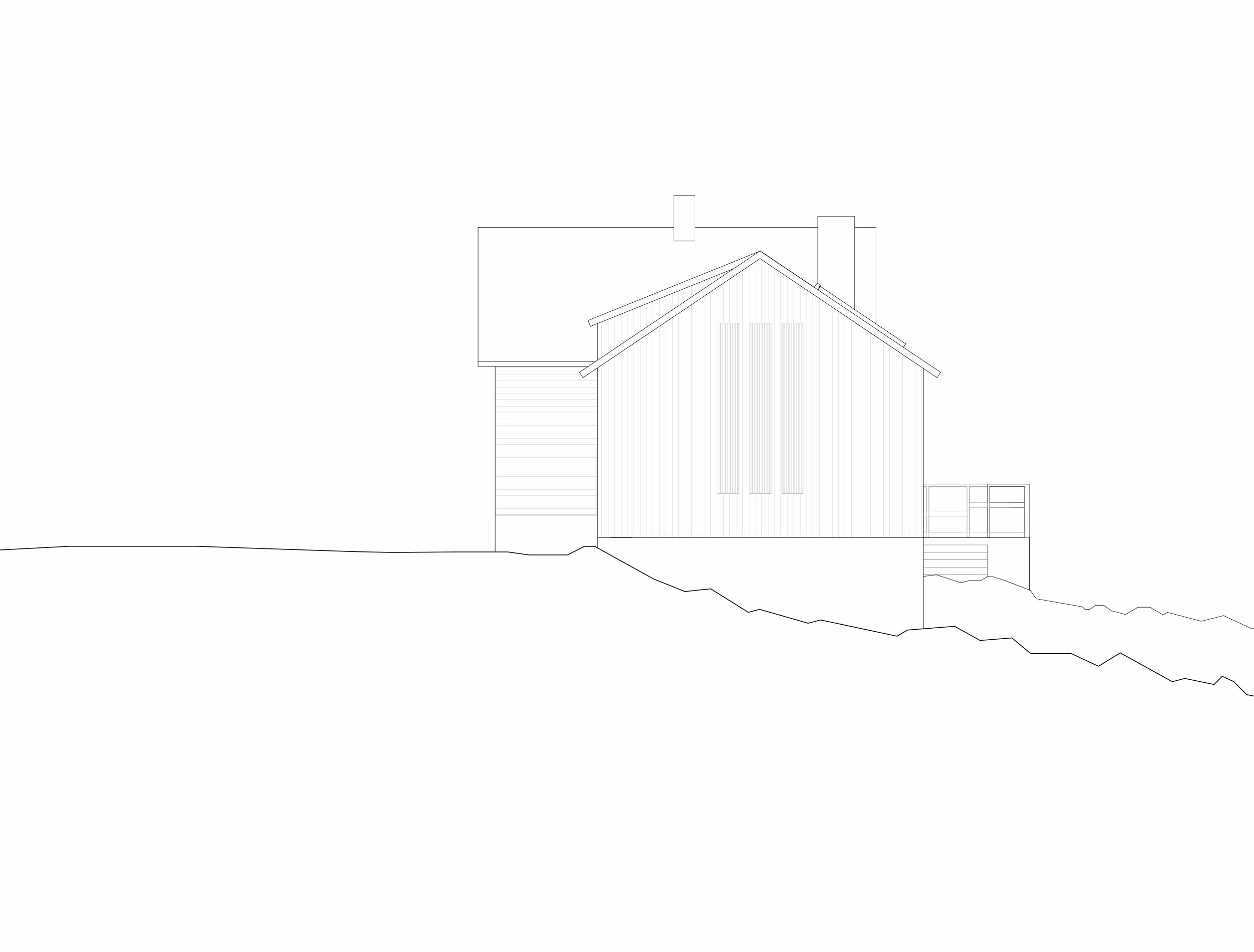 Forunderlig Arkitektur - 1604 - Fasade Nord