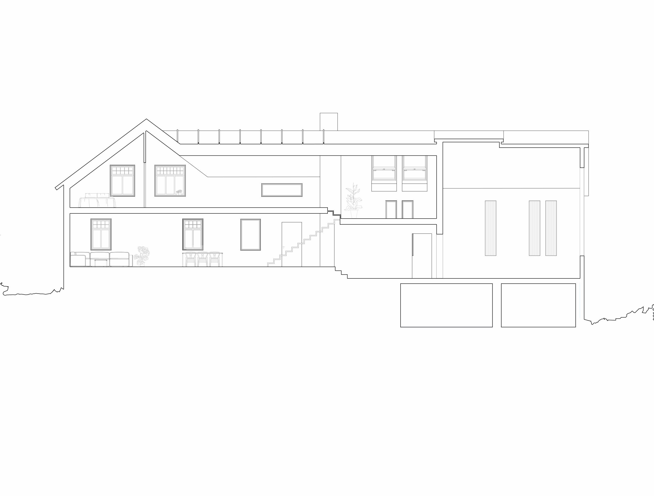 Forunderlig Arkitektur - 1601 - Langsnitt