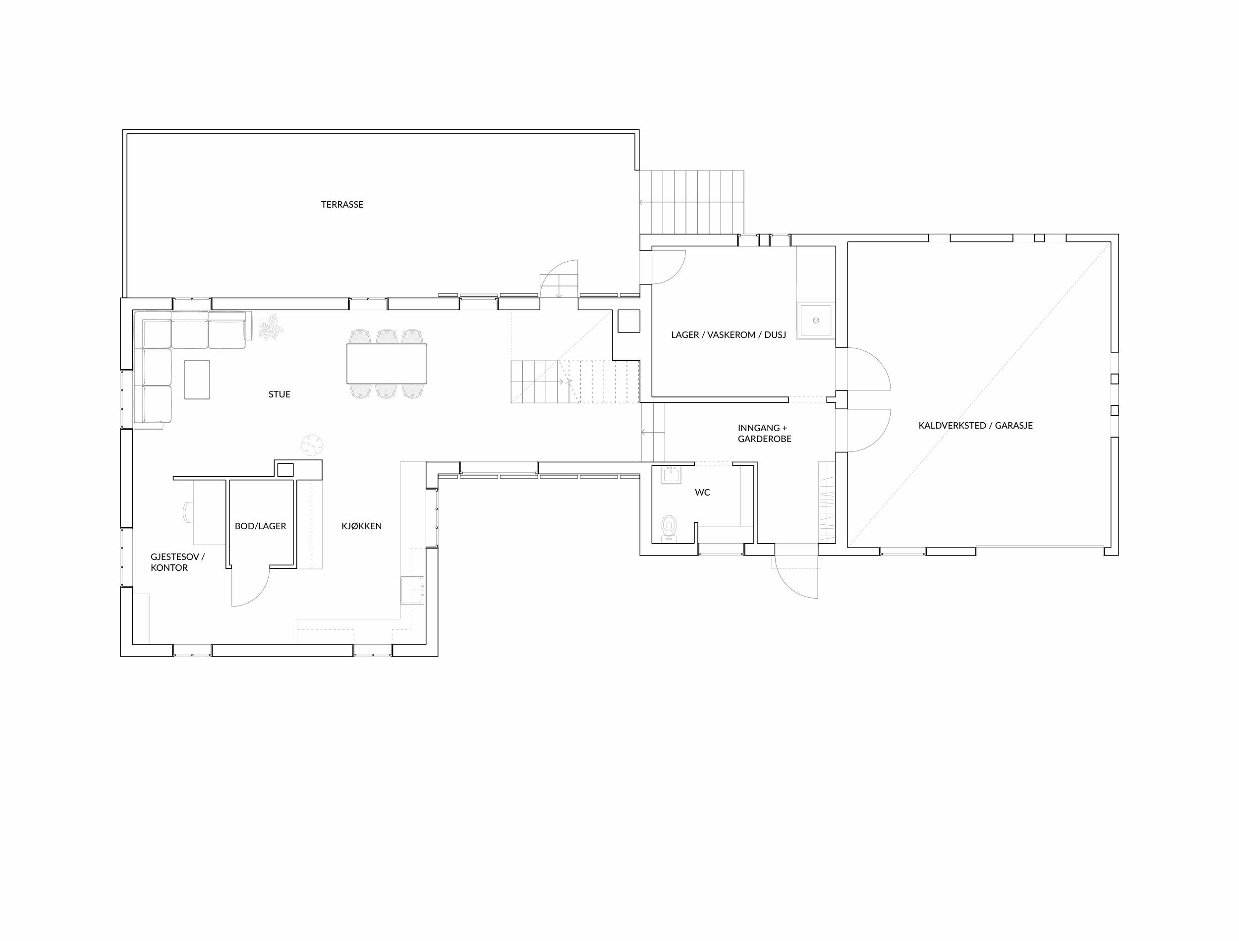 Forunderlig Arkitektur - 1601 - Plan 01
