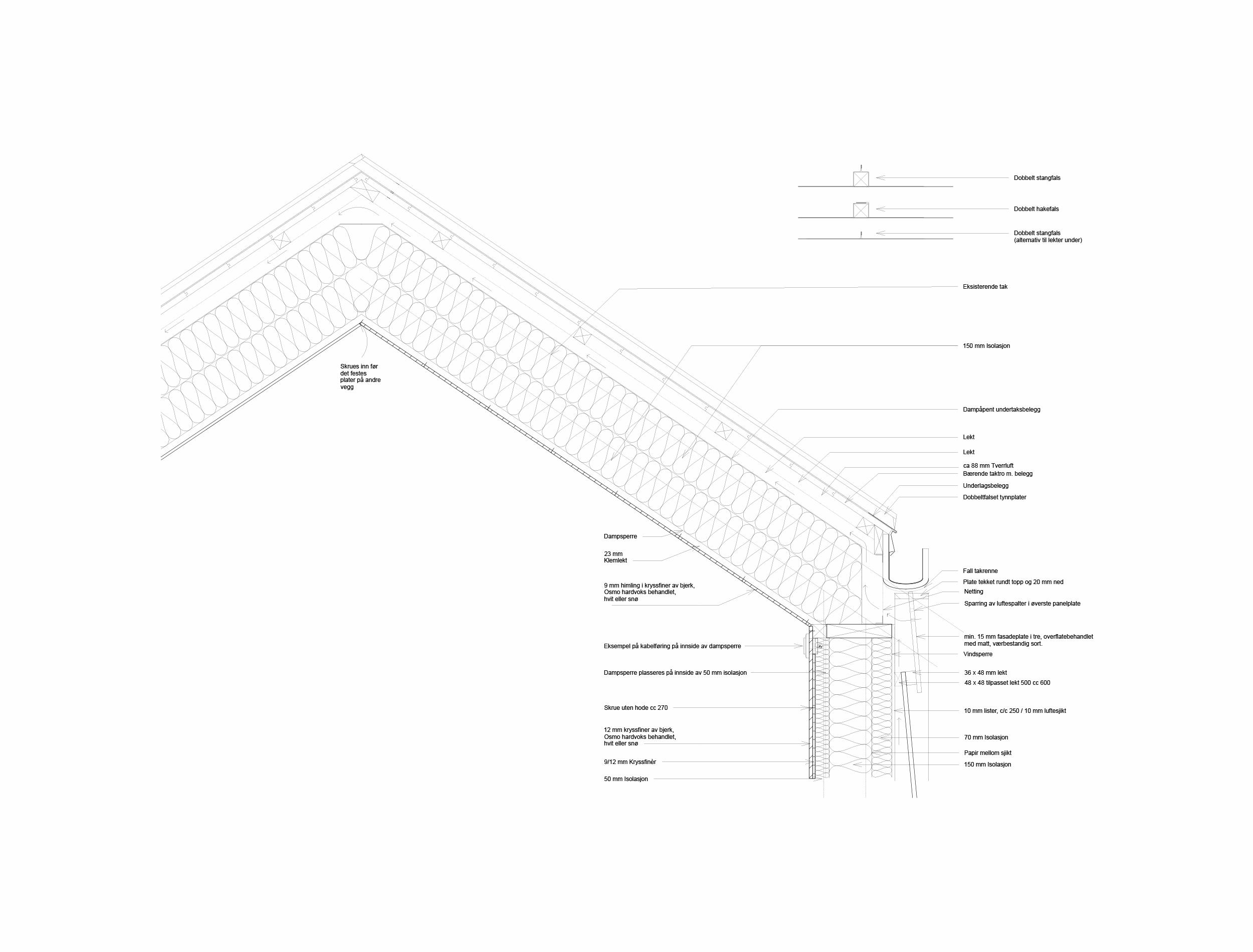 Forunderlig Arkitektur - 1604 - Detalj Tak