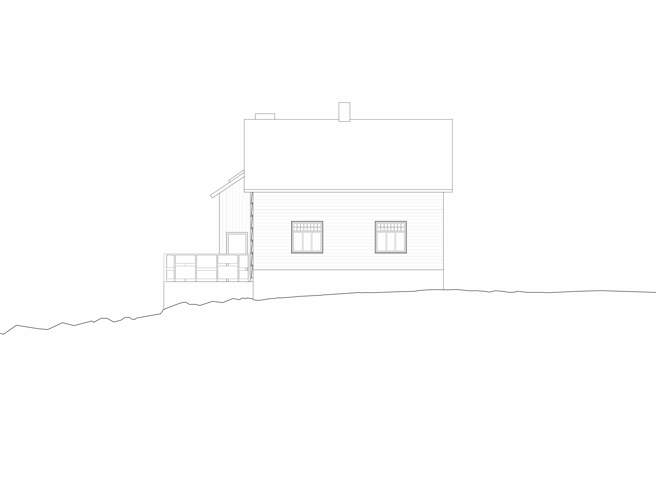 Forunderlig Arkitektur - 1604 - Fasade Sør