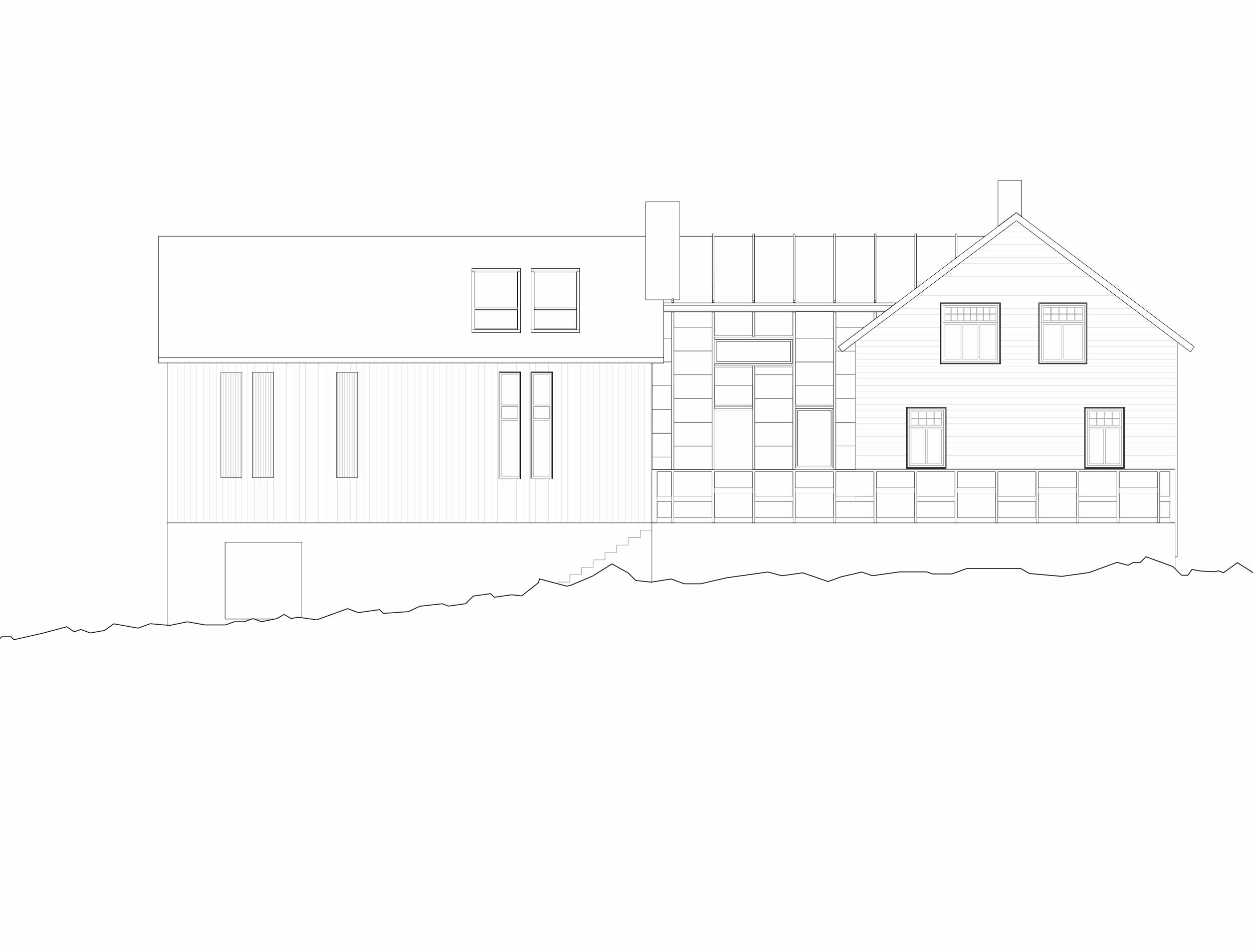 Forunderlig Arkitektur - 1604 - Fasade Vest