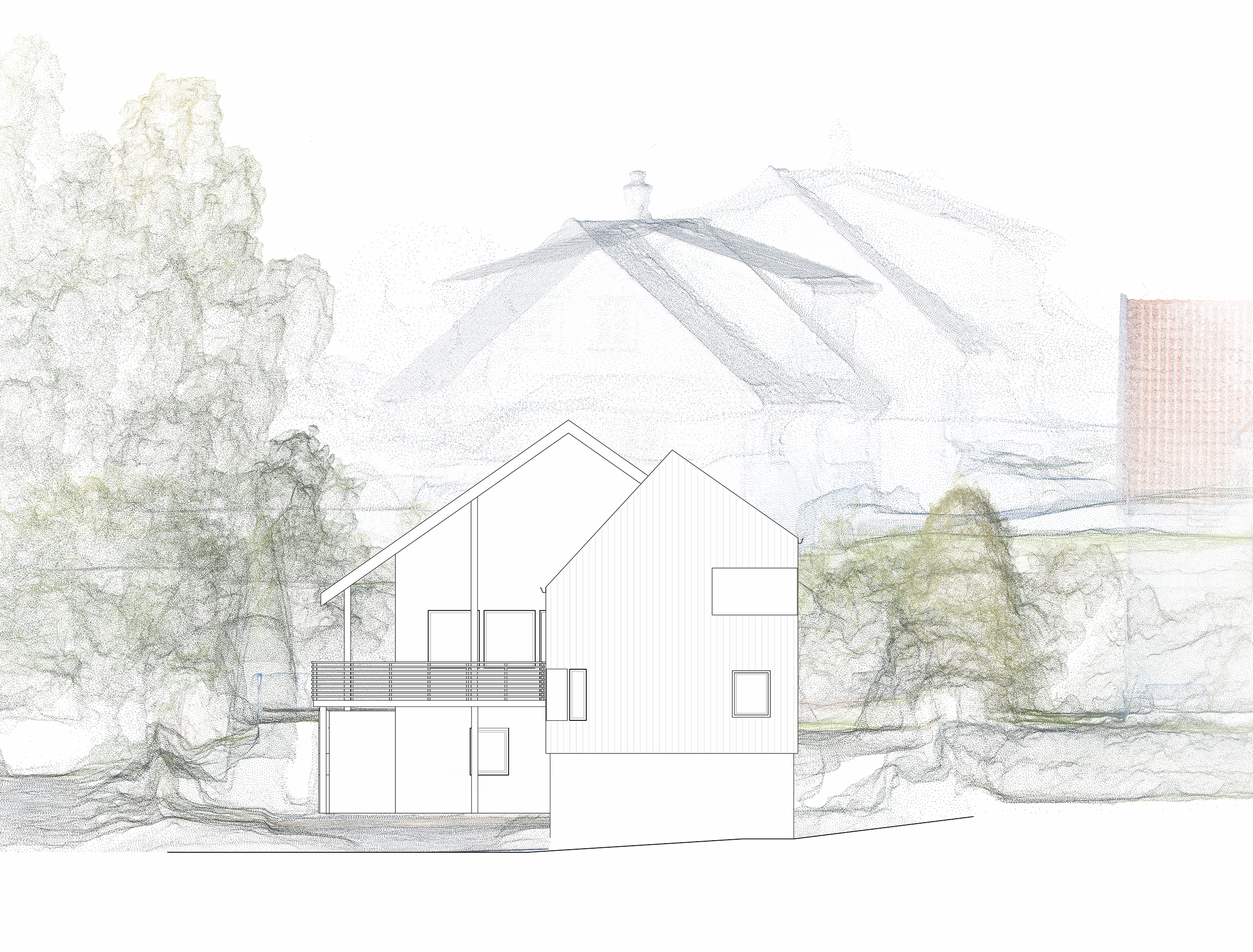 Forunderlig Arkitektur - 1603 - Fasade Øst