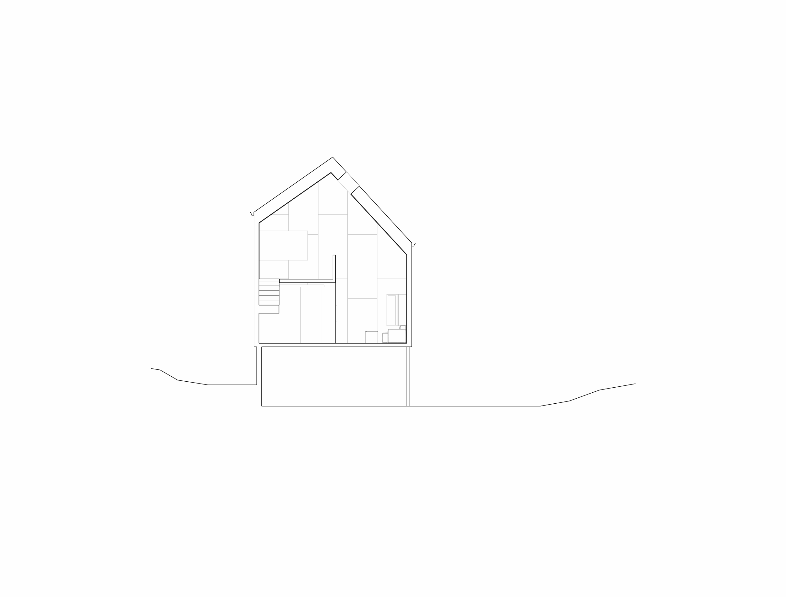 Forunderlig Arkitektur - 1603 - Snitt 01